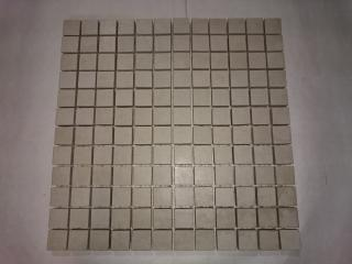 DL.ACTUAL MOsaico 2,5x2,5 WHITE 3004