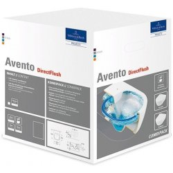 AVENTO WC závesné combipack 5656RSR1 so slim softclose poklopom